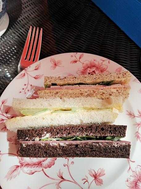 St. Ermin's Hotel: Gluten free sandwiches
