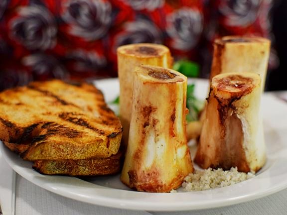 St. John: Roasted marrow bones with parsley
