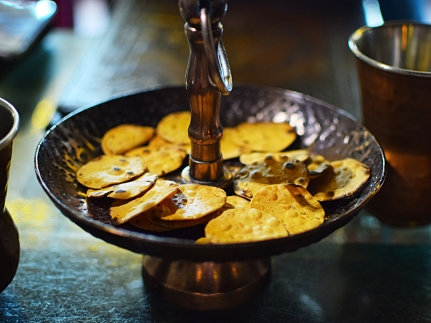 Desi Vibes: Mini papads