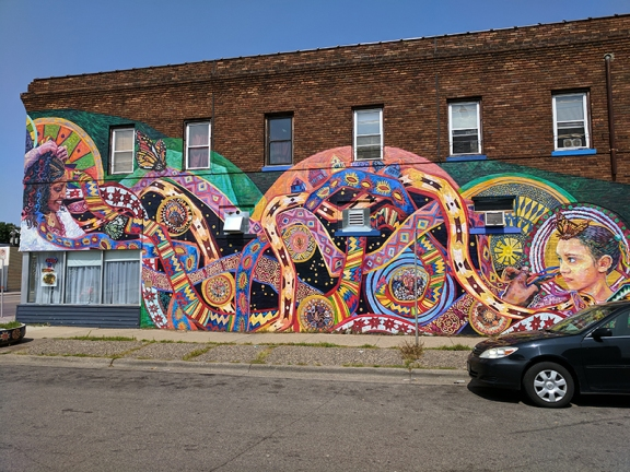Sherbourne Avenue is where you will likely park and this bright mural opposite Fasika will catch your eye.