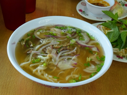 Trieu Chau: Pho with brisket and flank