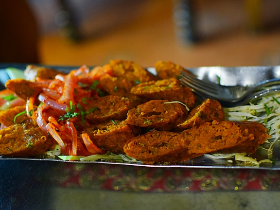 Desi Vibes: Seekh kababs