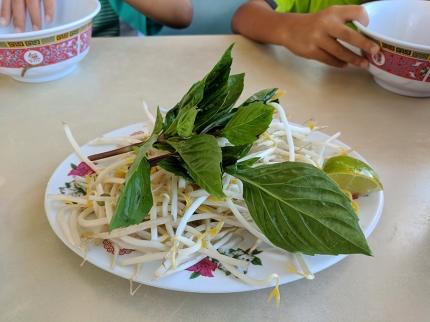 Trieu Chau: Hu Tieu Bo Kho toppings