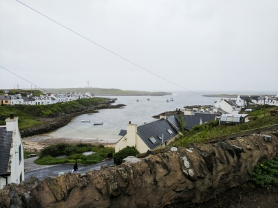 An Tigh Seinnse: A view of the harbour