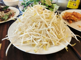 Bean sprouts for various noodl soups.