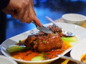 Ma La Sichuan: Dongpo Pork carved