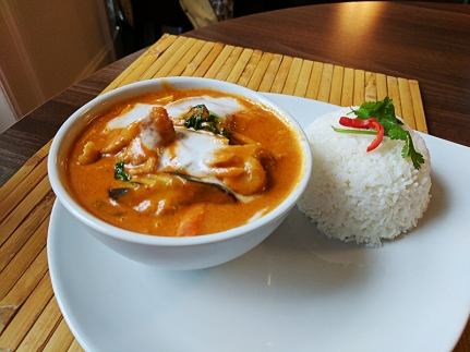 This red curry was decent as well.