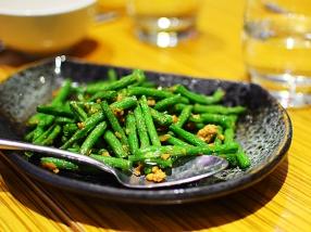 Ma La Sichuan: Green beans