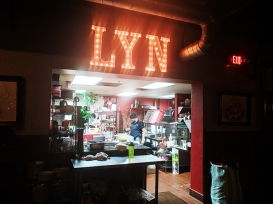 Lyn 65: A view of the kitchen