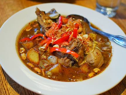 Khun Nai Thai Cuisine: Massamun curry