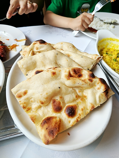 I don't know why the quality of naans and tandoori rotis in the UK is so low.