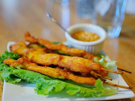 Khun Nai Thai Cuisine: Chicken satay