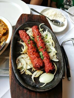 Sipson Tandoori: Seekh kabab