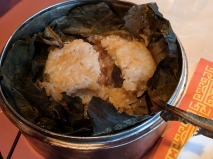 Yangtze: Sticky rice unwrapped