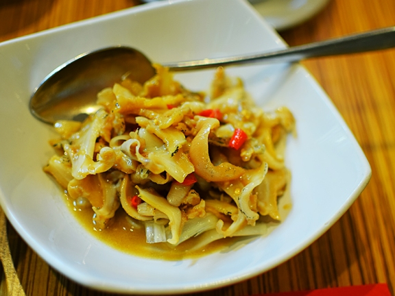 Ma La Sichuan: Whelk in Spicy Chilli Sauce