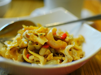 Ma La Sichuan: Whelks close-up