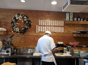 Osawa: Behind the sushi counter