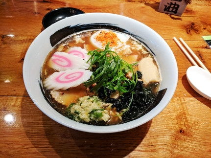 Masu, Apple Valley: Ginger-Scallion Ramen
