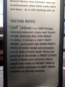"The tasting notes also prove to be less fanciful than usually the norm for the genre---though see below for my disappointment re mango and pineapple. I'm also not sure what it means to be ""intensely balanced"" but maybe that's because I'm not."
