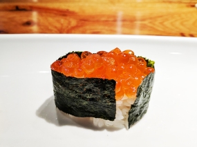 Masu, Apple Valley: Ikura (salmon roe)