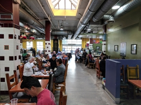 "This concentration of diners is in the ""corridor"" that extends from Chichen Itza to Holbox."