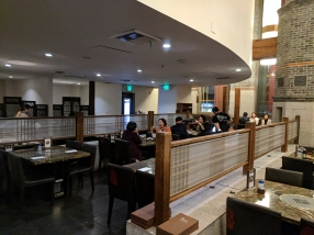 Hansol Noodle and Korean Food: Interior