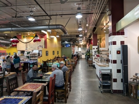 Mercado La Paloma: Interior