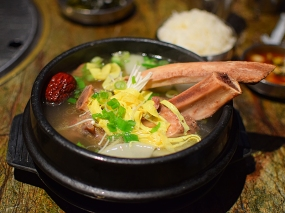 Hansol Noodle and Korean Food: Galbi tang