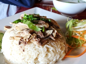 Thai Garden: Dry chicken
