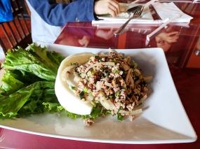 Thai Garden: Beef larb
