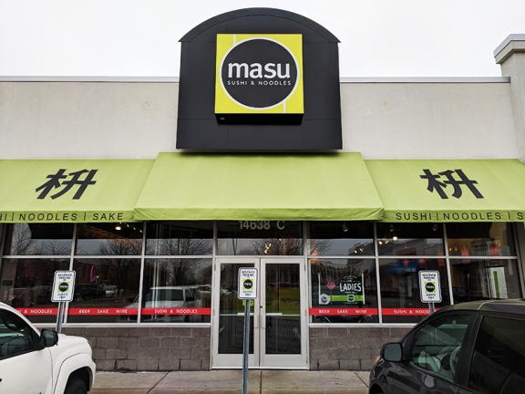 Masu, Apple Valley: Exterior
