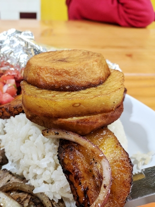 Chichen Itza: Potatoes and plantain