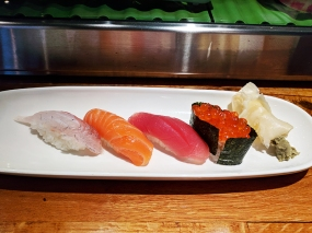 Masu, Apple Valley: Nigiri quartet