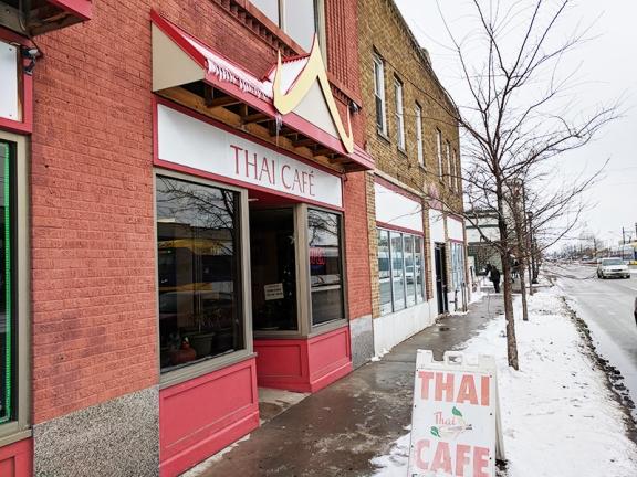 Thai Cafe: Exterior