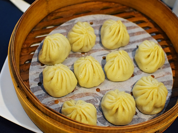 They were out of the crab. These are not the best XLB (not very juicy) but when you live in Minnesota you take whatever you can get in the SGV.
