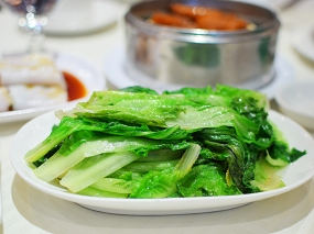 Sea Harbour: Chinese lettuce with oyster sauce