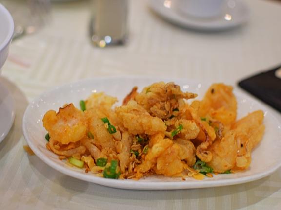 Sea Harbour: Deep-fried squid