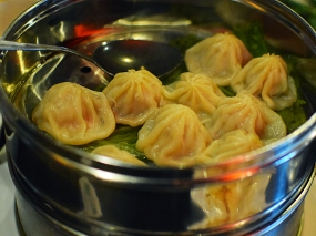 We get their version of soup dumplings once every few years and are never satisfied.