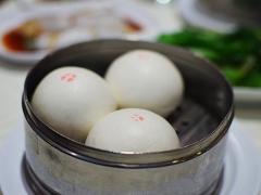 Sea Harbour: Steamed preserved egg bun