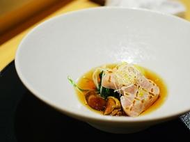 Shiki: Winter vegetables and sashimi