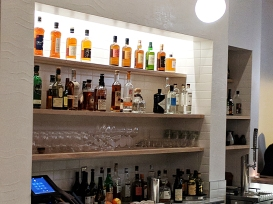 This is not the whisky bar, which I hope has a better collection of whiskies---I was not inspired to ask to look.