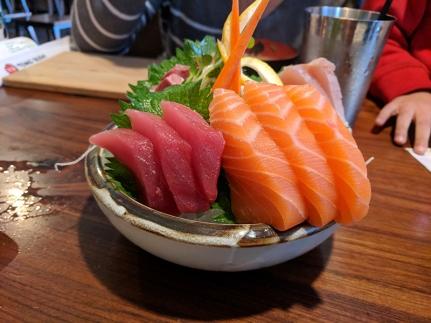 Tenno Sushi: Sashimi