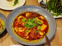 Szechuan: Fish with rattan pepper and tofu