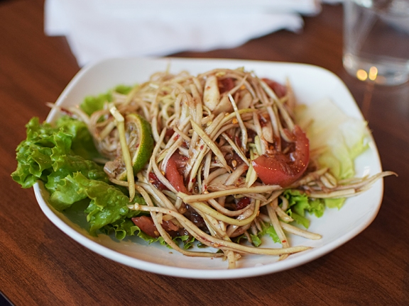 Lao Thai: Lao Papaya Salad