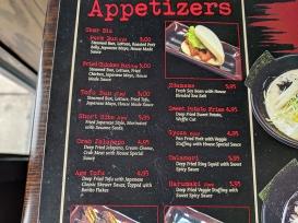 Ichiddo Ramen: Appetizers