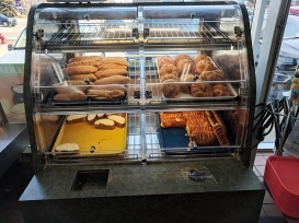 Andale Mercado: Baked goods.