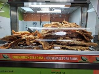 Andale Mercado: House-made chicharrones