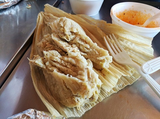 Andale: Chicken tamales