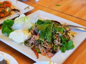 Bangkok Thai Deli: Duck salad