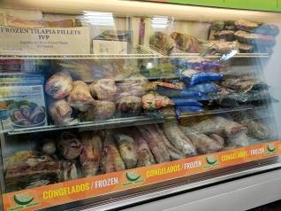 Andale Mercado: Frozen meats